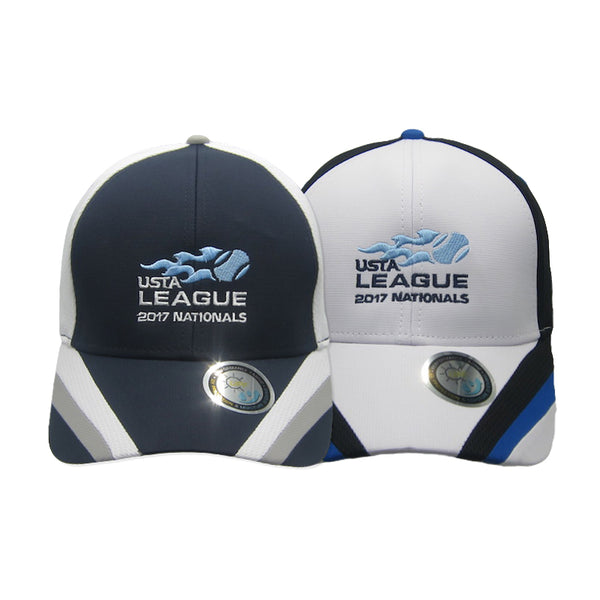 USTA LEAGUES 2017 National Championships Structured UV Coated Nylon Tech Baseball Hat