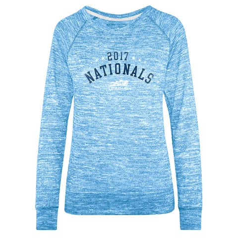 USTA LEAGUES 2017 National Championships Women's True Blue Carefree Crew Long Sleeve