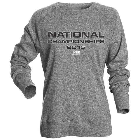 USTA LEAGUES 2015 National Championships Women's Black Heather Juneau Sweatshirt