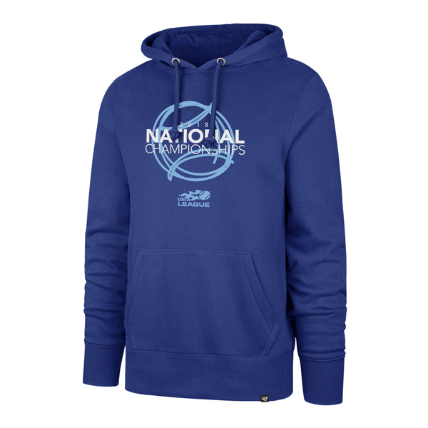 USTA Leagues 2018 National Championships Men's '47 Brands Royal Headline Hoodie