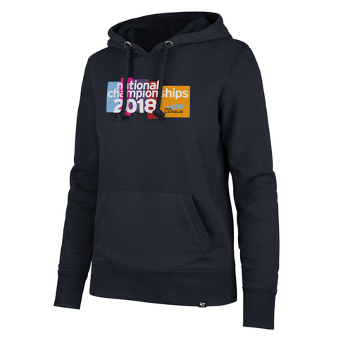 USTA Leauges 2018 National Championships Women's '47 Brands Navy Headline Hoodie
