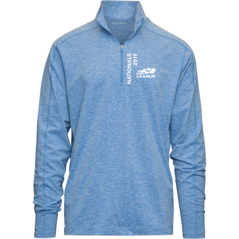 USTA LEAGUES 2019 NATIONAL CHAMPIONSHIPS INTERVAL ELECTRIC BLUE 1/4 ZIP