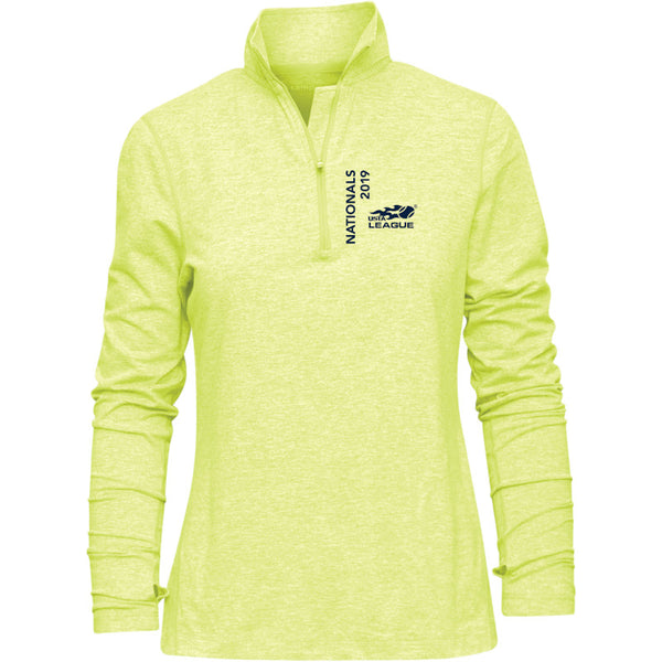 USTA LEAGUES 2019 NATIONAL CHAMPIONSHIPS FIREFLY 1/4 ZIP