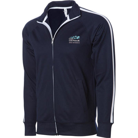 USTA LEAGUES 2016 National Championships Men's Navy Poly-Tech Full-Zip Jacket