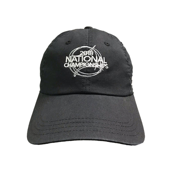 USTA Leagues 2018 National Championships American Needle Black Adult Slouch Semi Structured Lightweight Baseball Cap