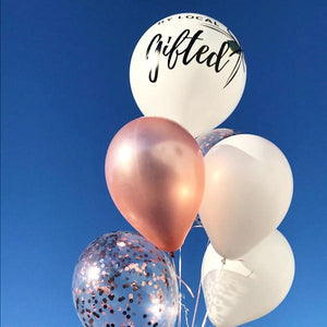 BALLOON BOUQUETS (WITH CUSTOM LETTERING)