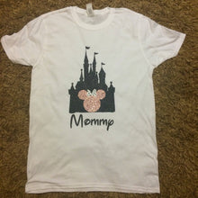 Load image into Gallery viewer, Mommy Disney Castle Minnie Mouse T-Shirt