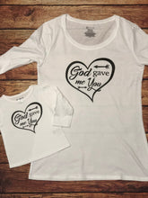 Load image into Gallery viewer, God gave me you Mommy and Me Matching t-shirts