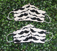 Load image into Gallery viewer, Mustache You a Question Reusable Mask