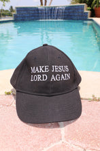 Load image into Gallery viewer, Make Jesus Lord Again Cap