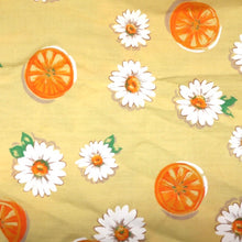 Load image into Gallery viewer, Flowers & Oranges Reusable Face mask