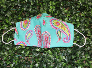 Paisley Punch Reusable Mask