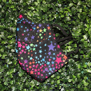 Rainbow Star Galaxy Reusable Face Mask