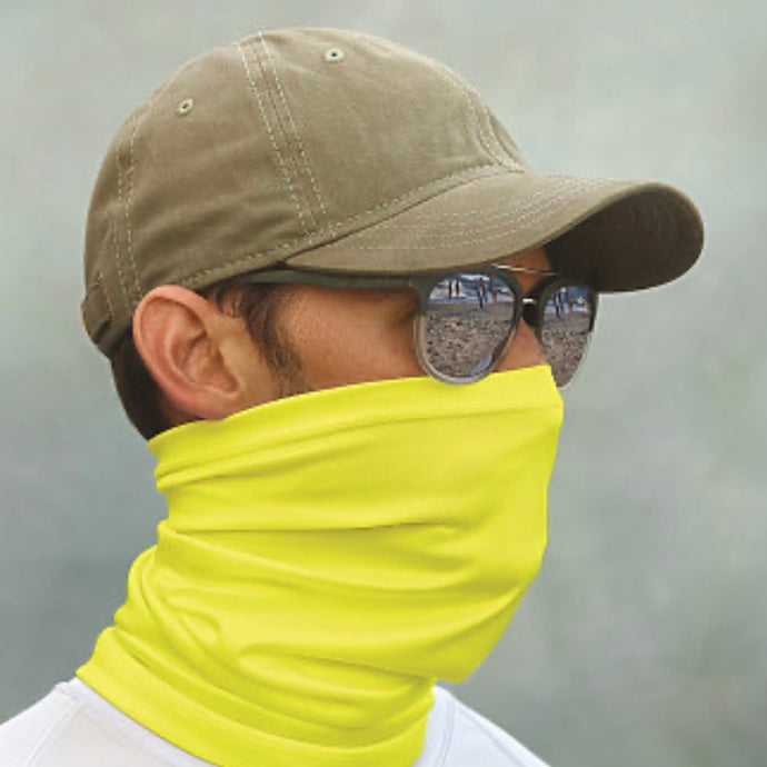 Safety Yellow Neck Gaiter