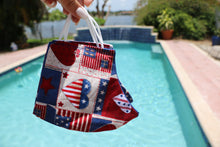 Load image into Gallery viewer, USA Flag & Hearts Reusable Face Mask