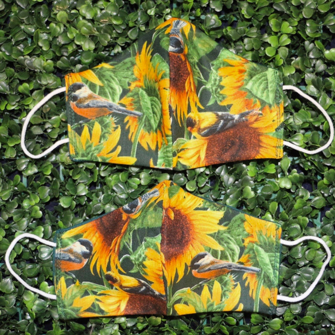 Sunflowers Reusable Face Mask