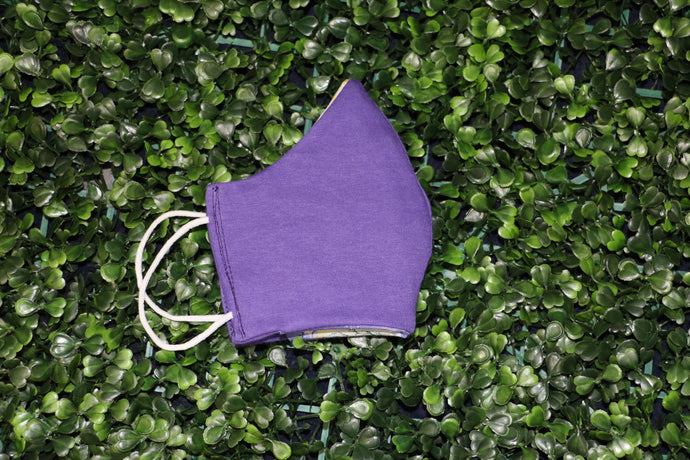 Purple Royalty Reversible Face Mask