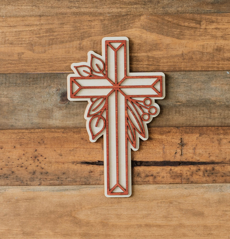 Botanic Multilayer Wood Cross