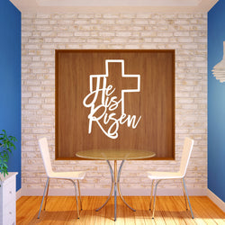 He is Risen Easter Plaque