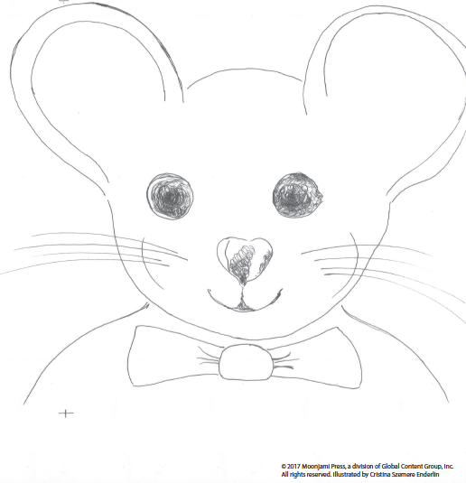 Printable: Mouse coloring page
