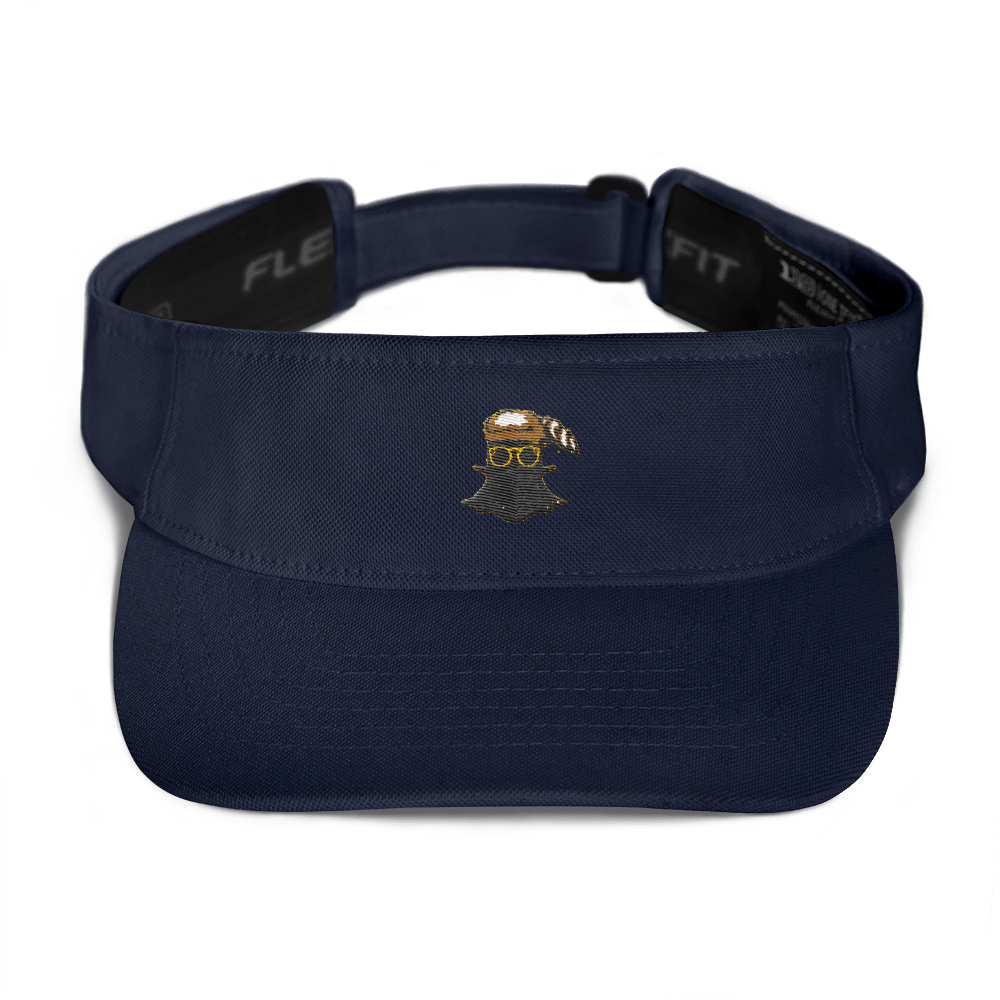 Visor (Dark Blue/Black/White)