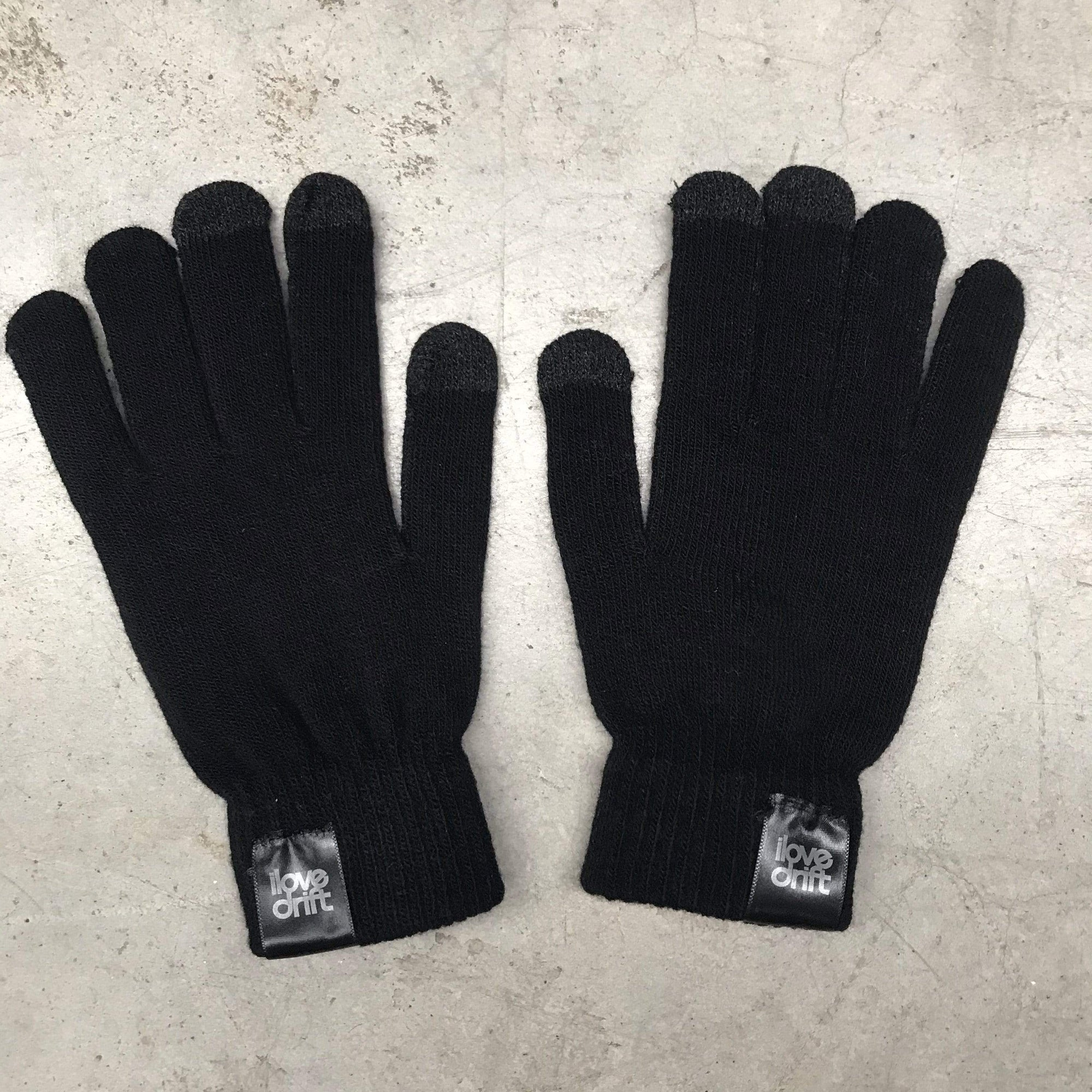 I Love Drift Clothing Touchscreen Knitted Gloves
