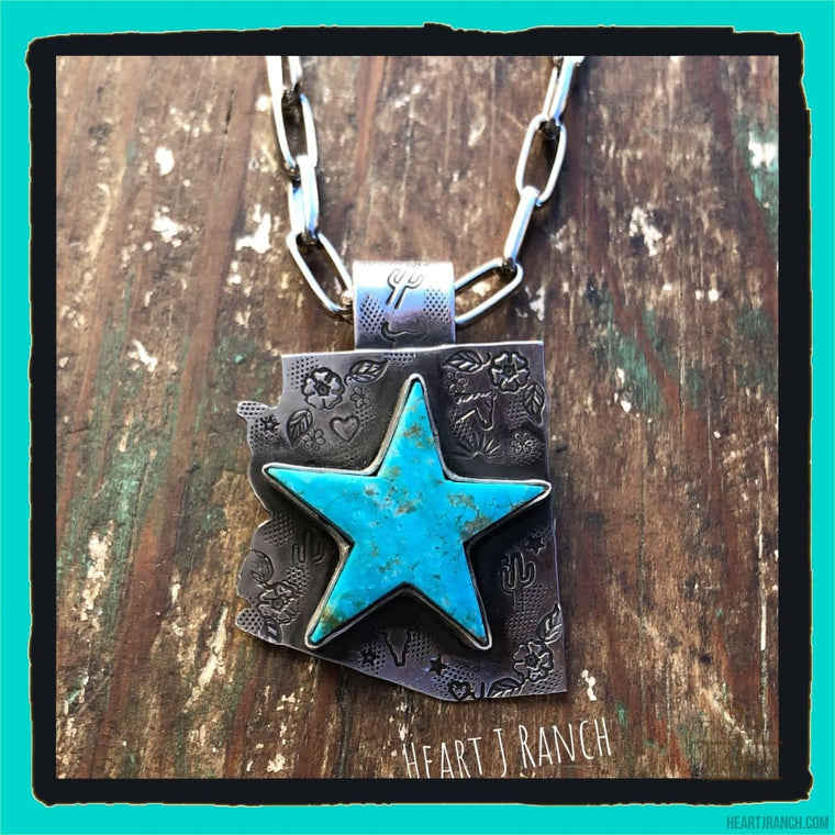 Arizona Star Pendant - Necklace