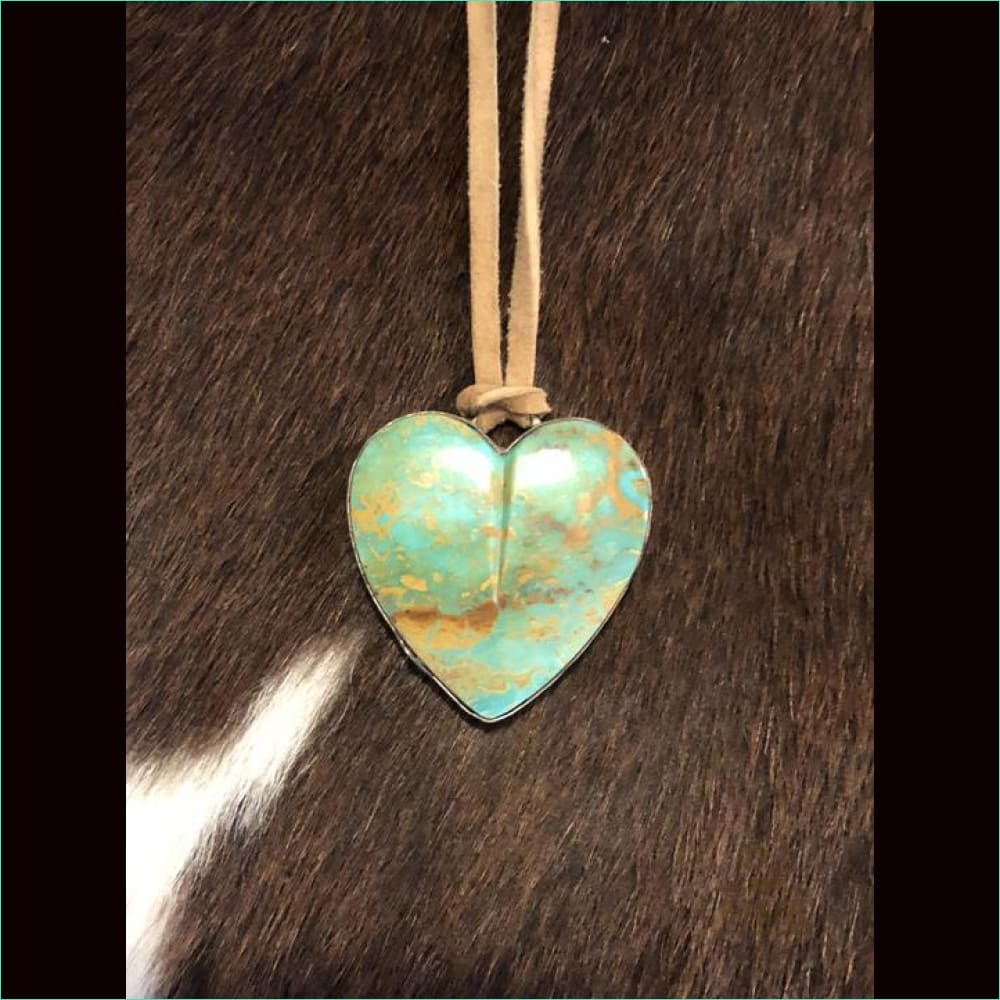 Heart J Necklace 17683