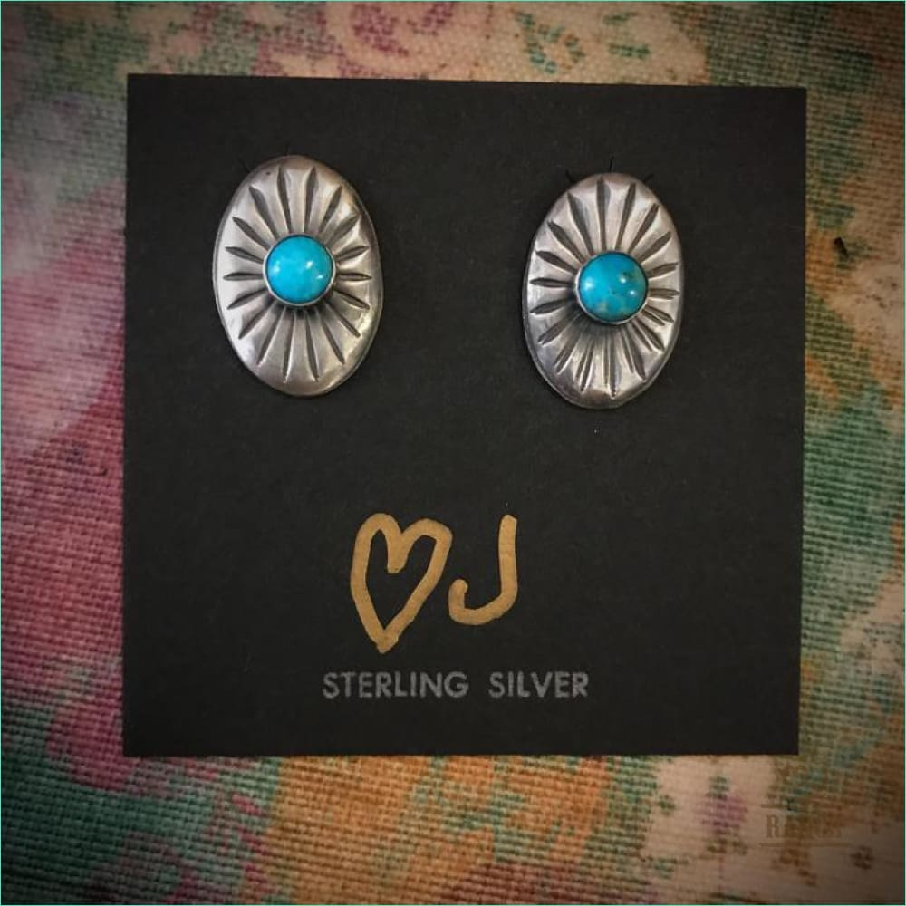 Heart J Post Earrings - Style 27800 - Earrings