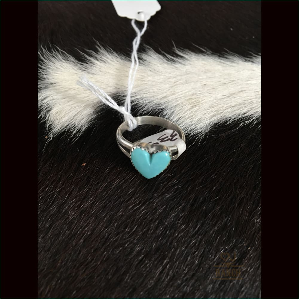 Heart Ring Size 7-1/2 - Ring