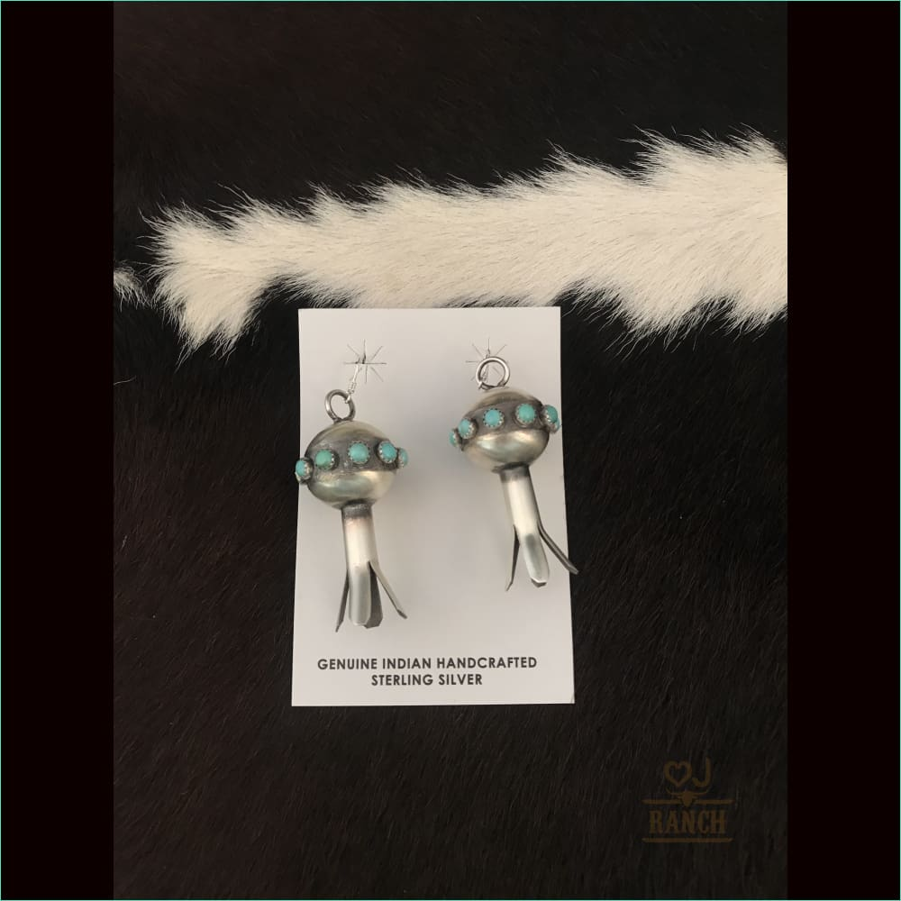Monica Smith Navajo Squash Earrings - Earrings