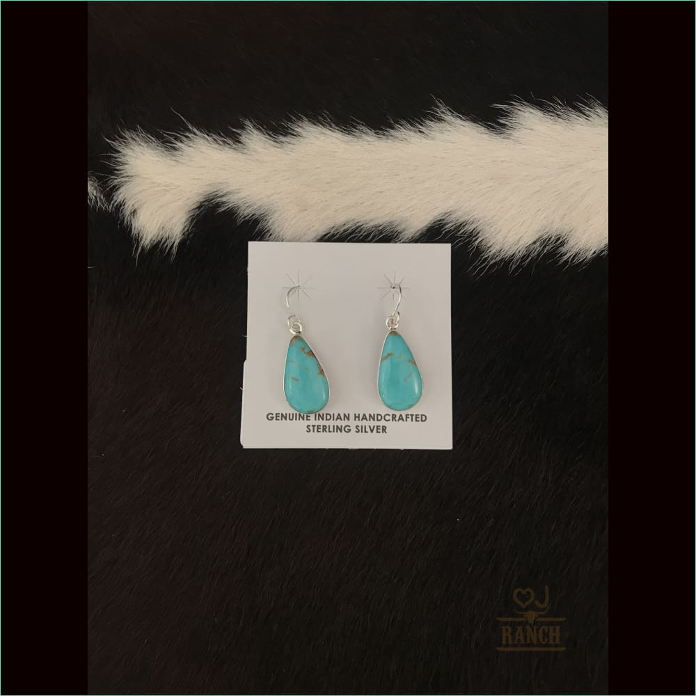 Shirley Henry Navajo Turquoise Earrings - Earrings