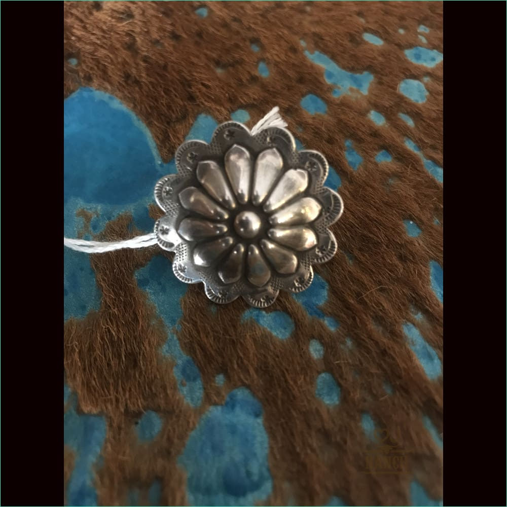 Sterling Silver Concho Ring 1 - Ring