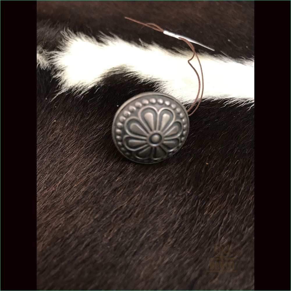 Sterling Silver Concho Ring - Ring