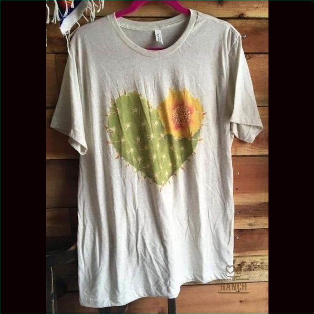 The Prickly Pear Heart Cactus T-Shirt - T-Shirt