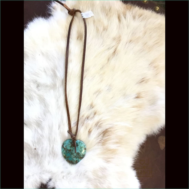 Turquoise Heart - Necklace