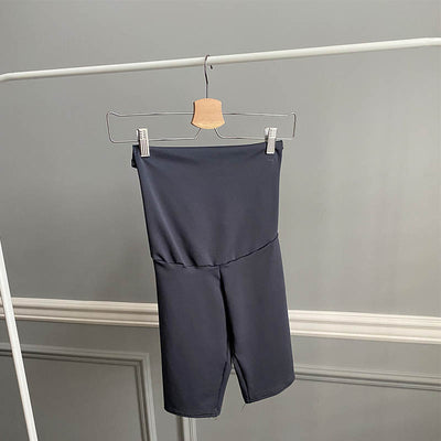 Sarah Biker Shorts- Charcoal - New Genes Maternity Wear