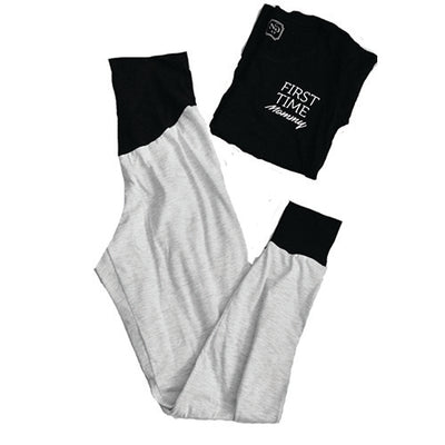 Scarlett Joggers-Light Grey - New Genes Maternity Wear