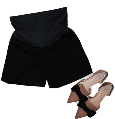 Maverick Shorts-Black - New Genes Maternity Wear