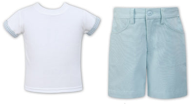 Sarah Louise Boys T-Shirt and Shorts  SKU - 011538-542