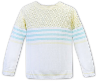 Sarah Louise Baby Boys Sweater  SKU  011964- S/S20