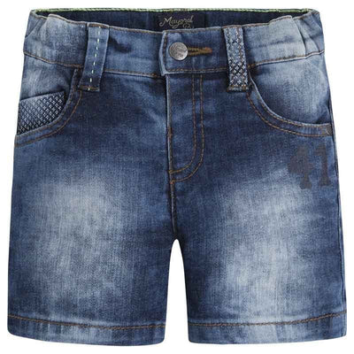 Mayoral Baby Boys Denim 5p Denim bermuda SKU 1252-5