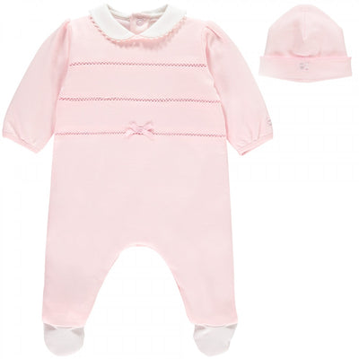 Emile et rose Nessa Girls Babygrow & Hat Set  SKU 1777pp