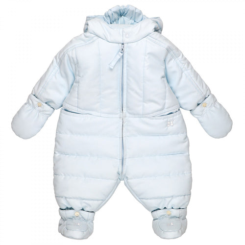 Emile et Rose Rohan Blue Baby Boys Winter Snowsuit
