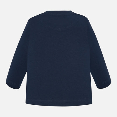 Mayoral Baby Boys Dark Blue L/S t-Shirt  SKU 108-20