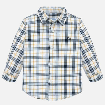 Mayoral Baby Boys Corn L/s Checked Shirt  SKU 2116-16