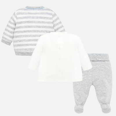 Mayoral Baby Boys Pearl Tracksuit with Shirt - SKU - 2619-77