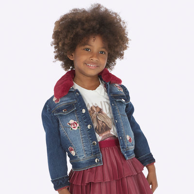 Mayoral Girls Denim Jacket SKU 4410-72