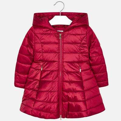 Mayoral Girls Red Padded Coat  SKU 4416-36