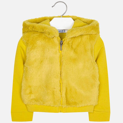 Mayoral Girls Amber Fur Pullover SKU 4424-66